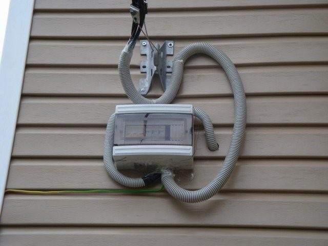 описание электропроводки